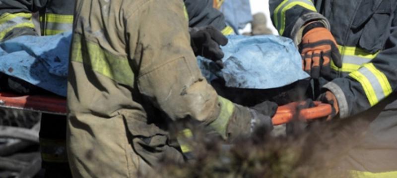 Два человека погибли в пожаре в Черновском районе