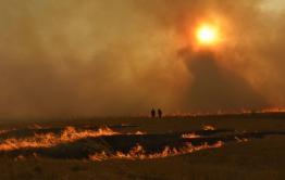 В Забайкальске премировали добровольных пожарных, часть из них получили деньги, часть - благодарственные письма