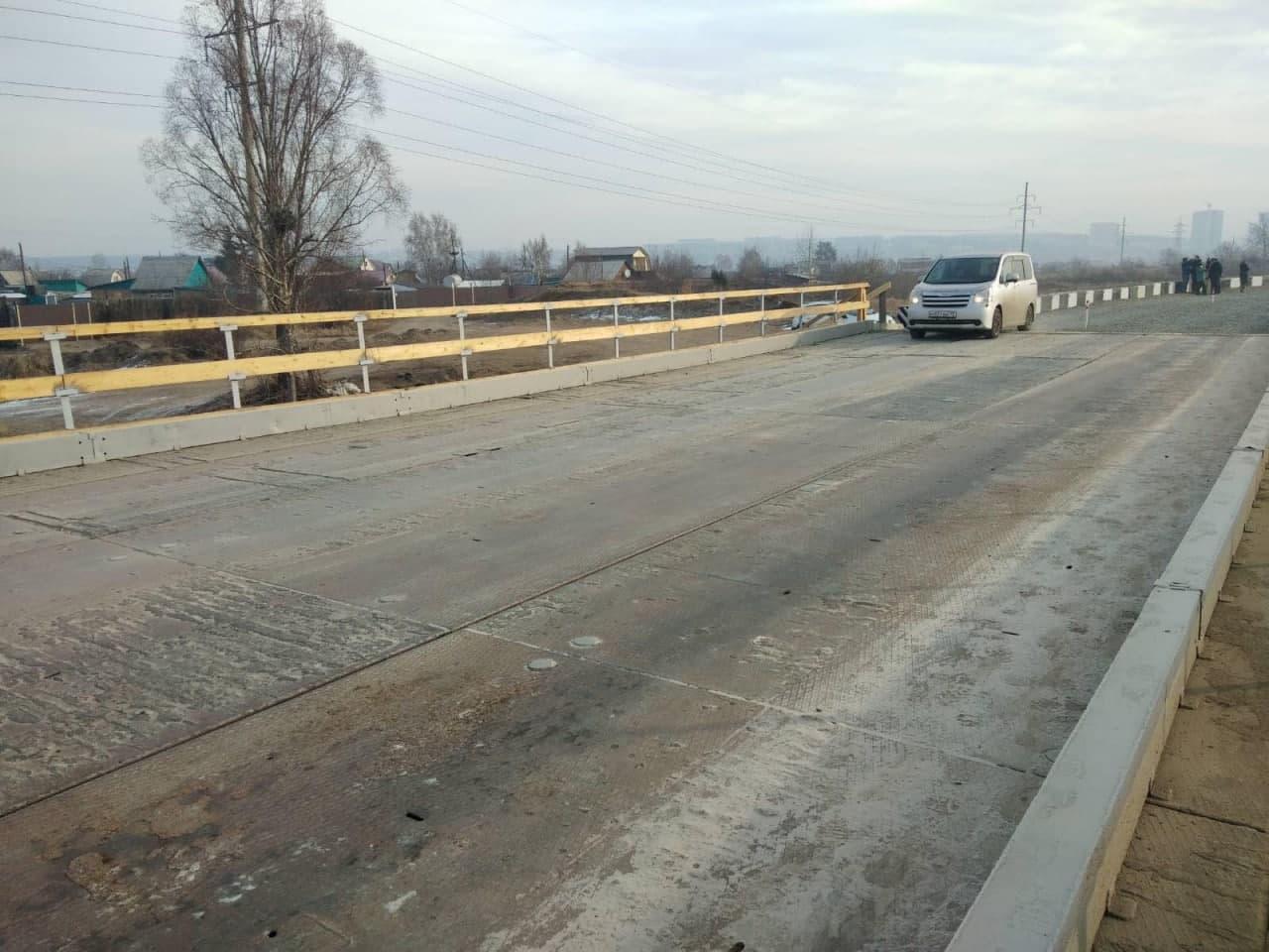 На месте смытого Каштакского моста в Чите открыли временную переправу