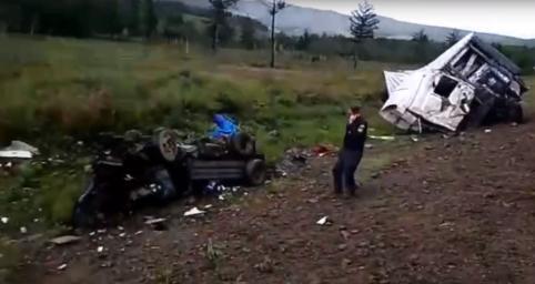 Два человека погибли в ДТП на трассе Чита — Хабаровск