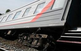 Пустой пассажирский вагон сошел с рельсов в Забайкалье