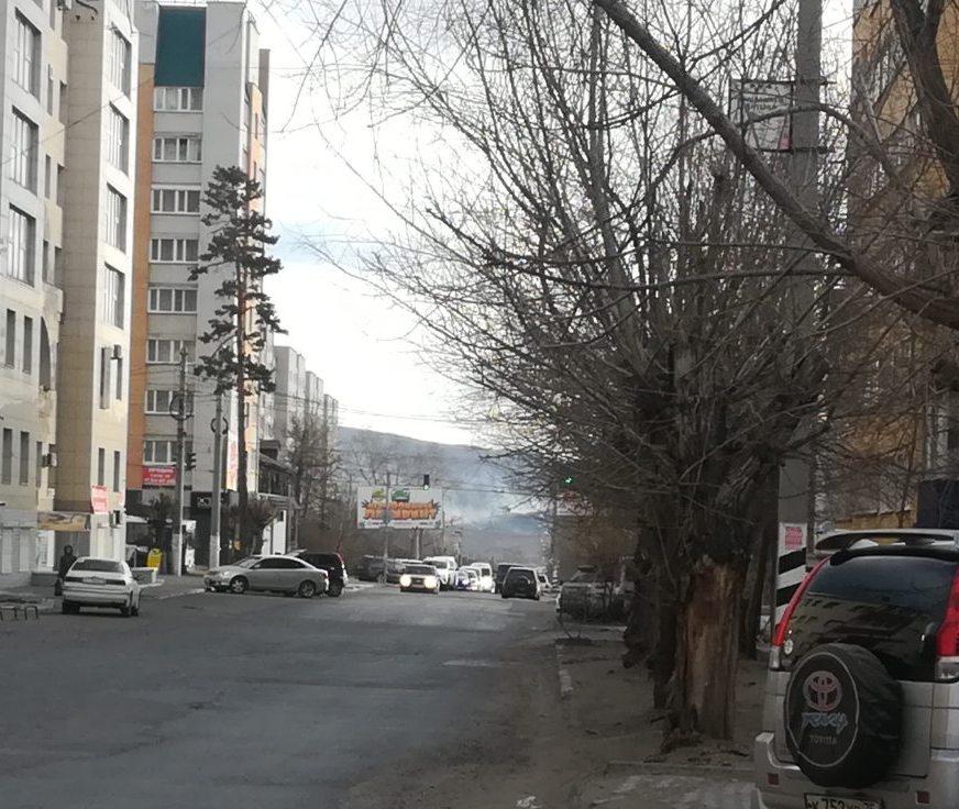 Пожар на Титовской сопке локализован