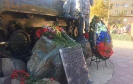 В Чите открыли памятник забайкальцам, погибшим при исполнении долга