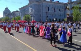 Шествие в честь Дня города началось в Чите
