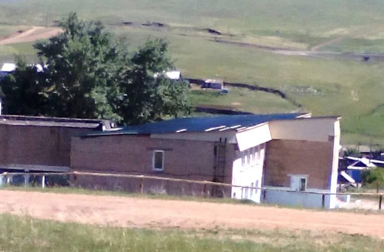 После публикации «Вечорки» в интернате в селе Ононское отремонтировали сорванную ветром крышу