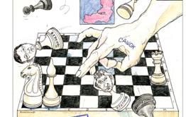 Читательница восхищается работами художника-карикатуриста «Вечорки»