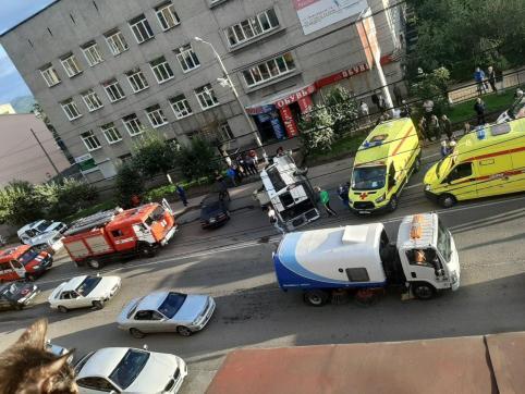 Следком начал проверку после ДТП с перевернувшейся в центре Читы маршрутки