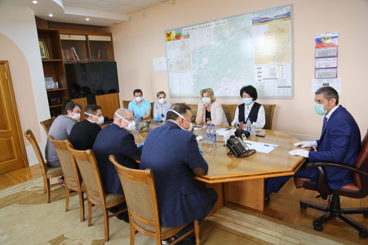 Медики из Москвы анализируют эпидемиологическую ситуацию в Забайкалье
