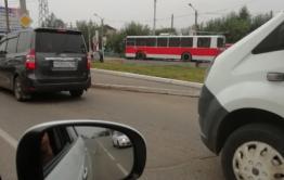 Красно-белый троллейбус поставили на место золотого в Чите