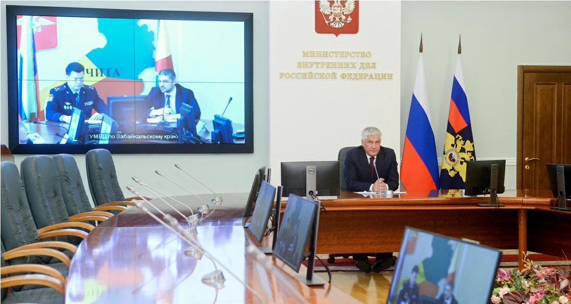 Министр внутренних дел России представил главного полицейского Забайкалья