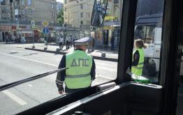 В Чите троллейбус сбил пешехода