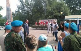 Десантник и глава Читы Александр Сапожников поздравил десантуру с праздником