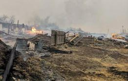 Видео горящей Усть-Ималки появилось в сети
