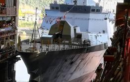 Корабль имени Алдара Цыденжапова спустили на воду в Комсомольске-на-Амуре