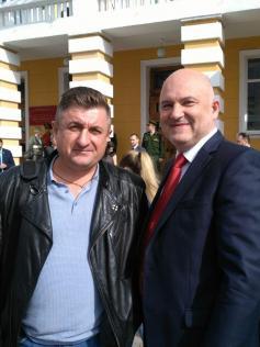 Константин Константиныч пришел на инаугурацию Осипова побритым. Чита, 19 сентября