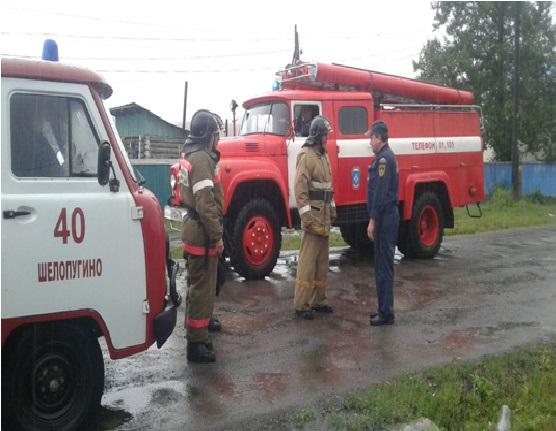 В селе Шелопугино вода подтопила 14 дворов (видео)