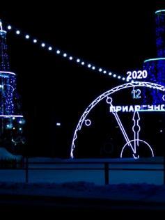 """В районах с ледовыми городками полная беда. Но, к счастью, не везде. Вот вам красота из Приаргунска. Фото из """"Одноклассников"""""""