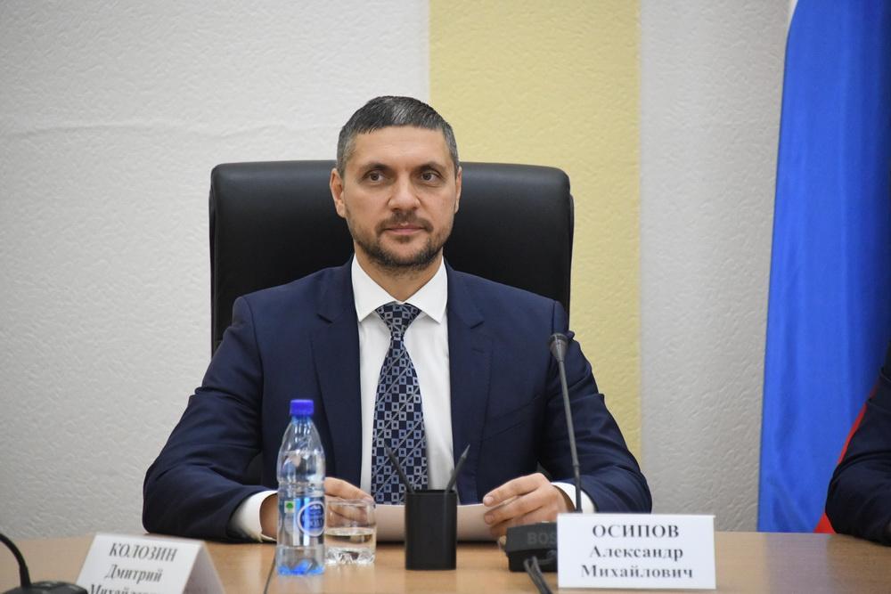 Осипов выдвинул свою кандидатуру на выборы губернатора Забайкалья