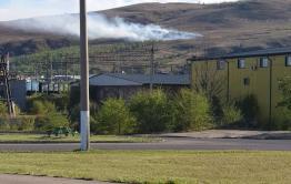 Титовская сопка горела в Чите