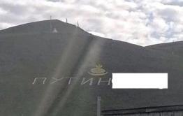 Авторы надписи про Путина в поселке Агинское получили штрафы общей суммой чуть больше двух тысяч