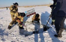 Вмерзшее в лед тело бездомного обнаружили на озере в Краснокаменске