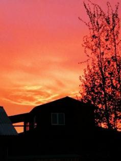 Шикарный закат в Чите