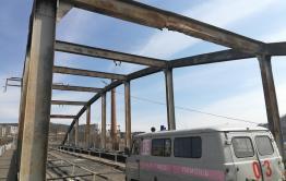 В Дарасуне начались работы по реконструкции моста и путепровода