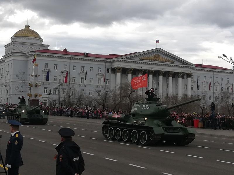 Власти отменили спецтребования для журналистов, которые будут работать на Параде Победы в Чите