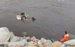 Спасатели вытащили тело водителя из утонувшего в Читинке автомобиля