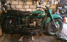 Добычей вора в Баде стал 30-летний мотоцикл