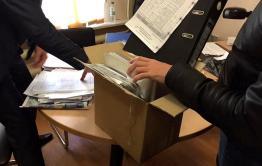 Силовики провели обыск в администрации Смоленки