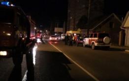 В Чите пожарные спасли 32 человека и эвакуировали 35 из горящего дома