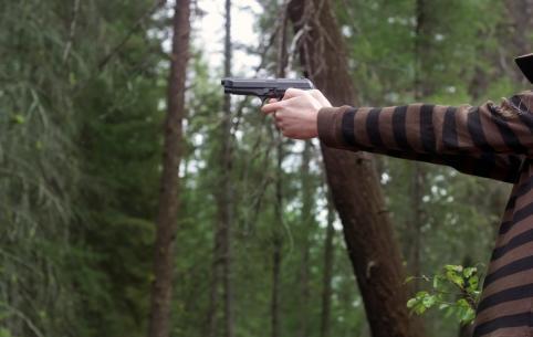 Забайкальские полицейские начали проверку по сообщению о перестрелке в лесу Нерчинского района