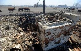 СУ СК осматривает пострадавшие села Забайкалье с помощью дронов