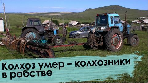 Вечорка ТВ: Колхоз умер – колхозники в рабстве