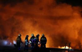 Минздрав сообщил об одном пострадавшем от степного пожара