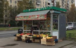 Читинка возмущена фруктовыми киосками, загородившими проход по улице Ленина