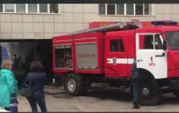 В Чите загорелся подвал кондитерской фабрики