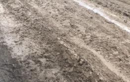 Жители села Цаган-Оль пожаловались на отвратительное качество ремонта трассы «Могойтуй - Боржигантай»