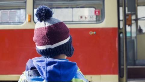 В России вступил в силу запрет высаживать из транспорта детей без билета