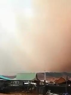 Лесной пожар в окрестностях Карымской