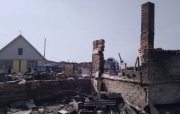 Сбор средств продолжается для села Усть-Ималка, где сгорело 36 домов
