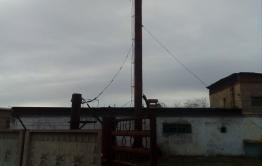 Труба котельной рухнула в Нерчинске