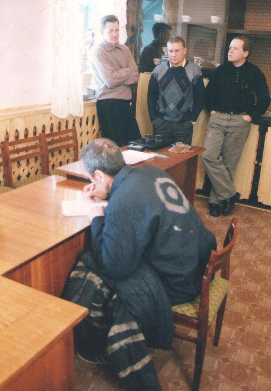 Олег Иконников в Чите ждет этапа на Хабаровск