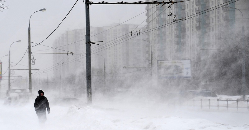 Сильный ветер и снег ожидаются сегодня в Забайкалье