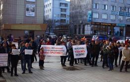 Депутат читинской думы Сапожников на митинге против мэрии призвал горожан выйти на субботник