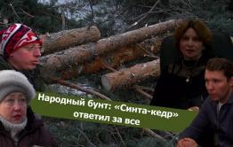 Вечорка ТВ: Народный бунт: «Синта-кедр» ответил за все
