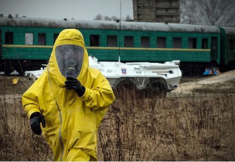 Неизвестный сверток с повышенным уровнем радиации обнаружили в локомотиве на границе с КНР в Забайкальске