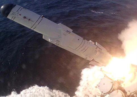 Корвет «Алдар Цыденжапов» выполнил пуск ракеты по морской цели