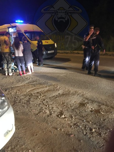 Сотрудник Росгвардии в Чите на служебном авто сбил девочку, переходившую дорогу в неположенном месте